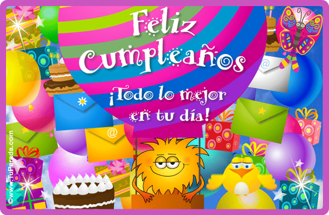 postales de cumpleaños