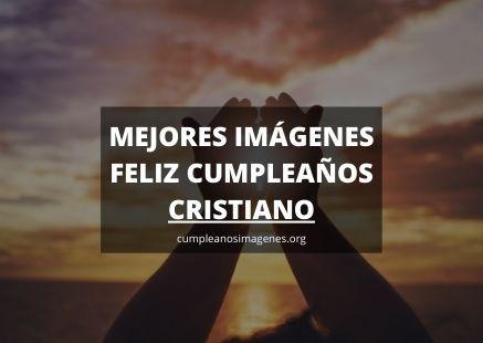 Felicitaciones de cumpleaños cristianos