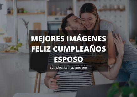 Felicitaciones de cumpleaños para marido