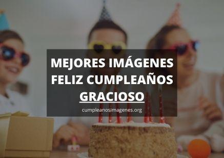 Felicitaciones de cumpleaños gracioso