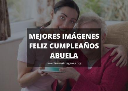 Felicitaciones de cumpleaños para la abuela