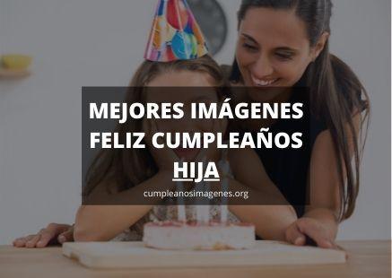 Felicitaciones de cumpleaños para una hija