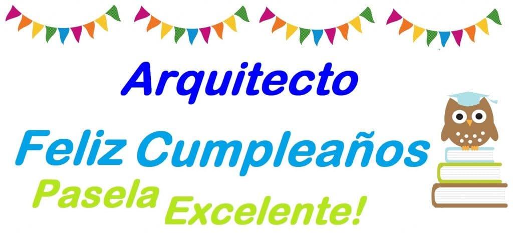 Mejores imágenes de cumpleaños para arquitectos