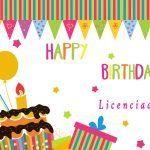 Imágenes de cumpleaños para licenciadas