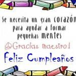 Imágenes de cumpleaños para maestros