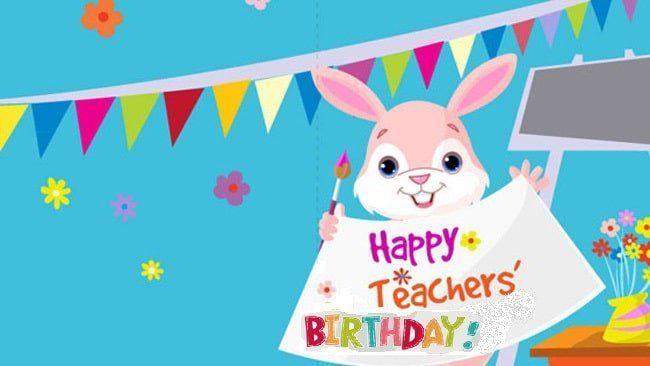 Imágenes de cumpleaños para maestras