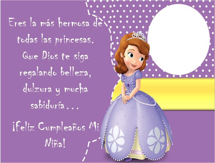 tarjetas de cumpleaños para niñas