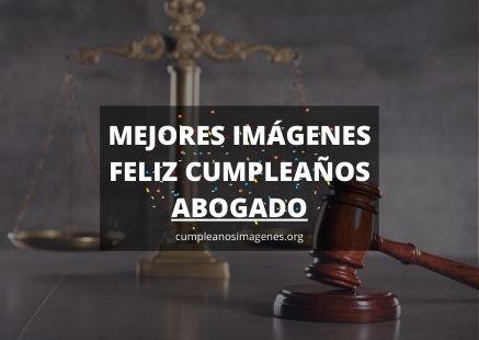 Felicitaciones de cumpleaños abogado