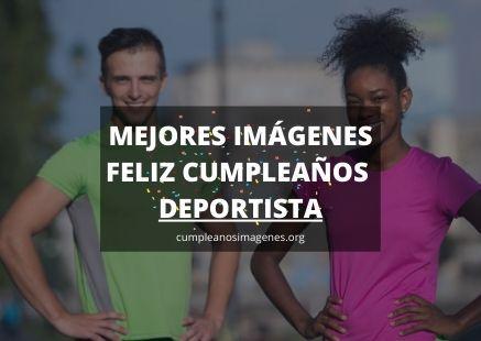 felicitaciones de cumpleaños para deportistas