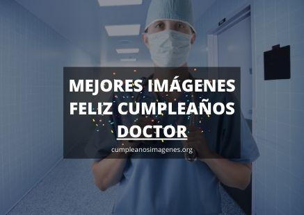 Felicitaciones de cumpleaños para un doctor