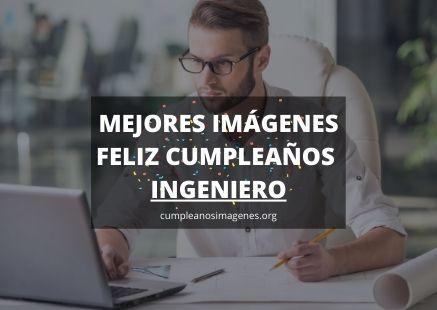 Felicitaciones de cumpleaños para un ingeniero