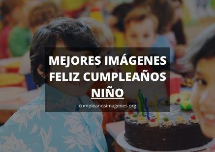 Felicitaciones de cumpleaños para niños