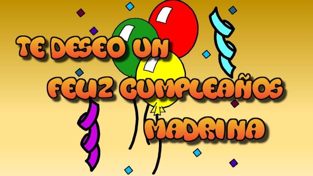 Imágenes de cumpleaños para madrinas