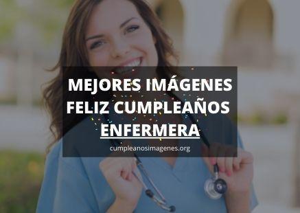 felicitaciones de cumpleaños para una enfermera