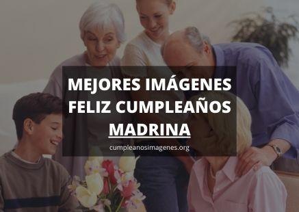 Felicitaciones de cumpleaños para madrina