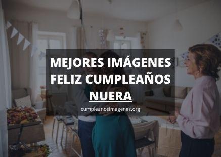 Felicitaciones de cumpleaños para nuera