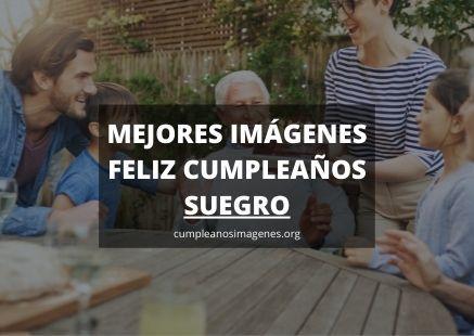 Felicitaciones de cumpleaños para suegro