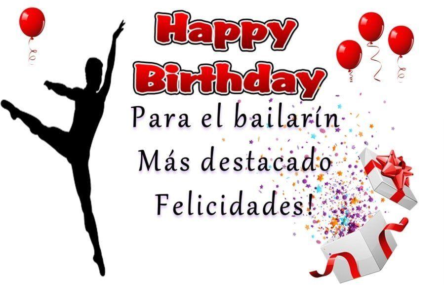 Cumpleaños bailarín