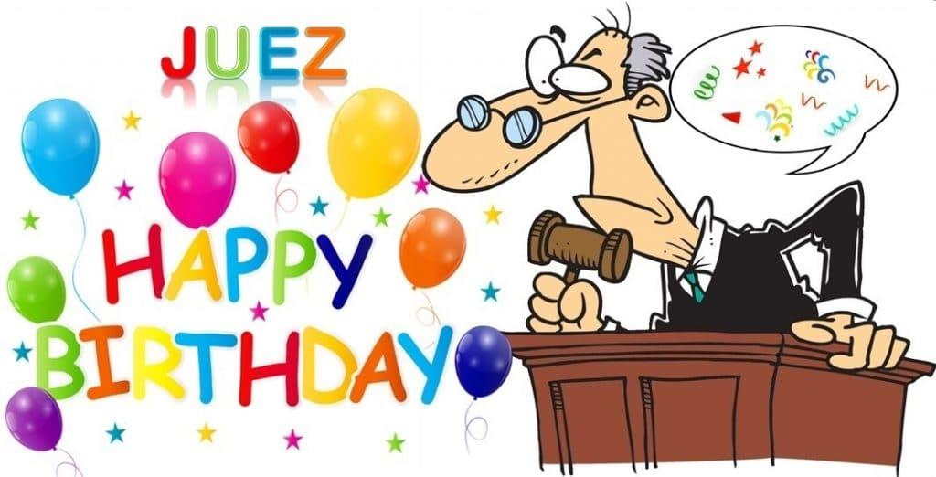 Mejores imágenes de cumpleaños para un juez