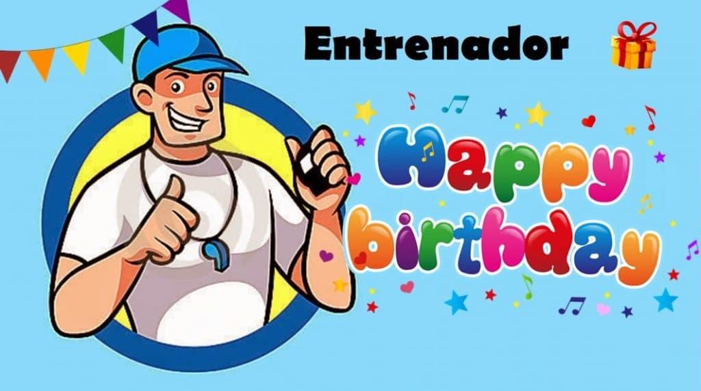 Cumpleaños para entrenador