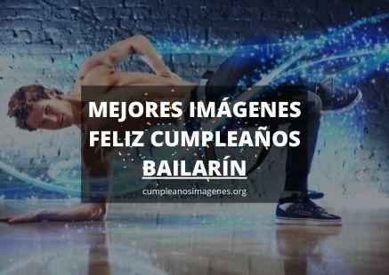 Felicitaciones de cumpleaños para bailarín