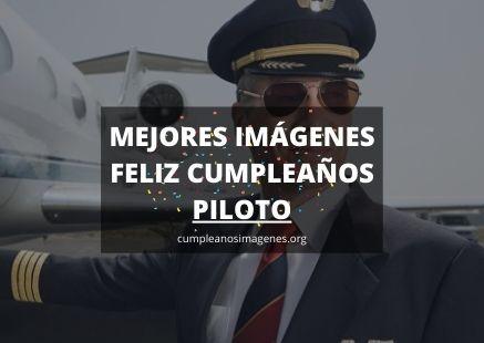 Felicitaciones de cumpleaños piloto