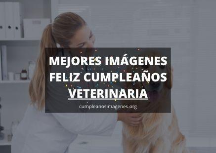 Felicitaciones de cumpleaños veterinaria