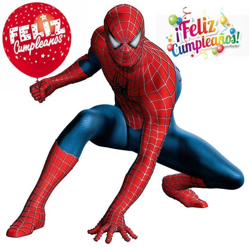 Imágenes de cumpleaños del Hombre Araña
