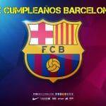 Feliz cumpleaños de Barcelona FC