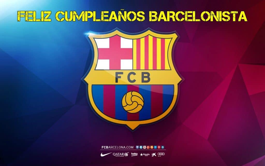 Imágenes De Cumpleaños Del Barcelona FC