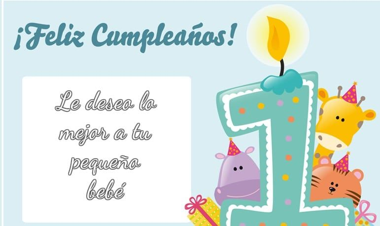 Imágenes De Cumpleaños Para Bebés Imagenes Y Tarjetas De Cumpleaños