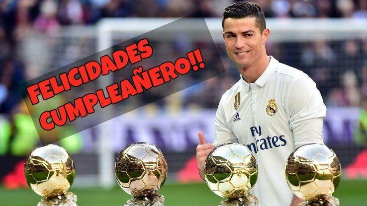 Mejores imágenes de cumpleaños para fans de Cristiano Ronaldo