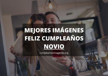 Felicitaciones de cumpleaños para novio