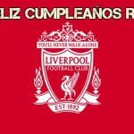 Feliz cumpleaños del Liverpool