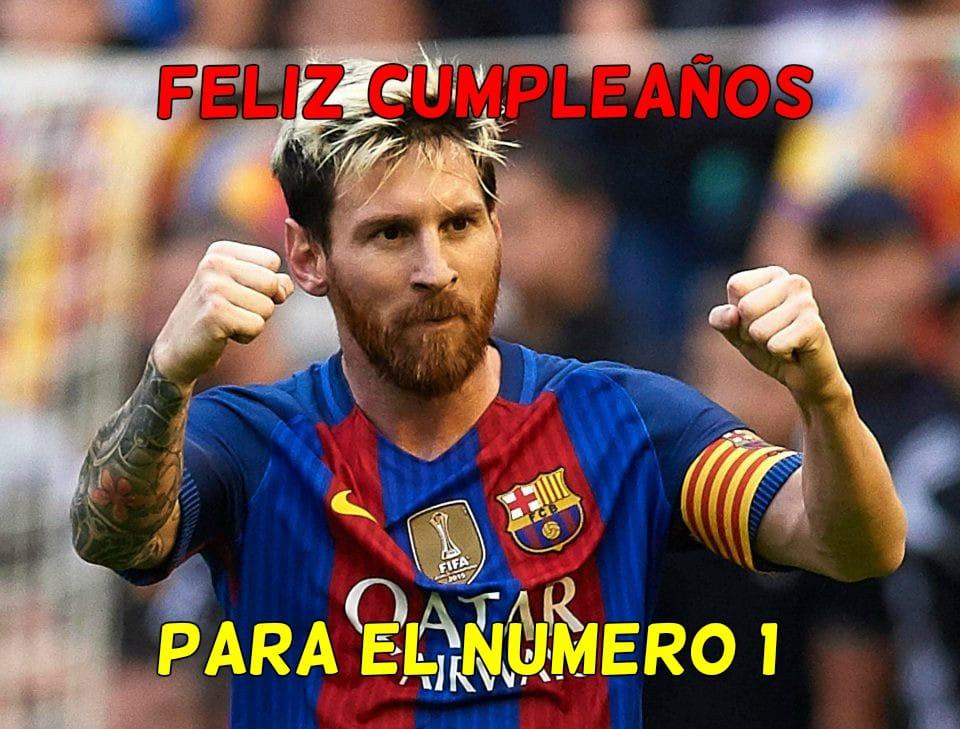Mejores imágenes de cumpleaños para los fans de Messi