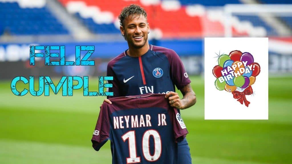 Feliz cumpleaños de Neymar Jr