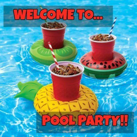 Feliz cumpleaños Pool Party