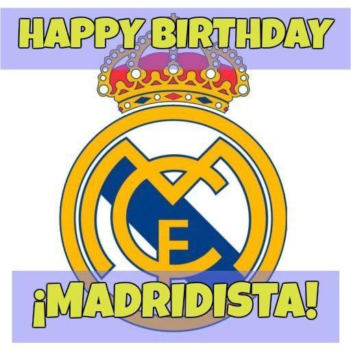 Feliz cumpleaños del Real Madrid