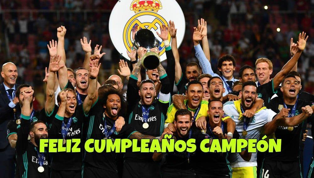 Imagenes De Cumpleanos Del Real Madrid Imagenes Y Tarjetas De