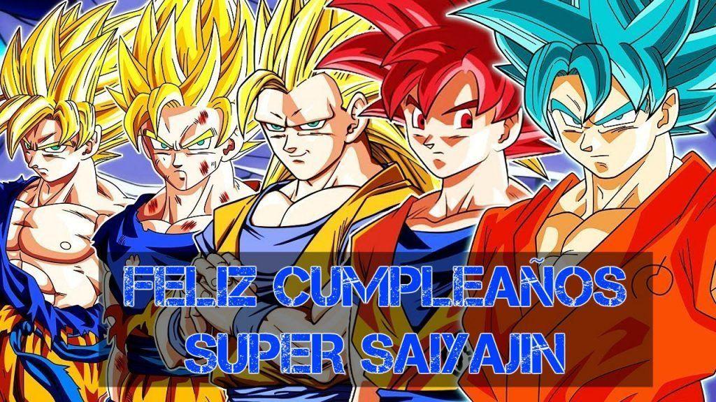 Feliz cumpleaños de Goku