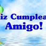 Feliz cumpleaños para mi amigo especial