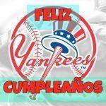 Feliz cumpleaños de Béisbol