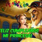 Feliz cumpleaños de La Bella y la Bestia