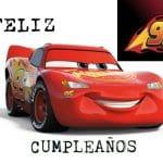 Feliz cumpleaños de Cars