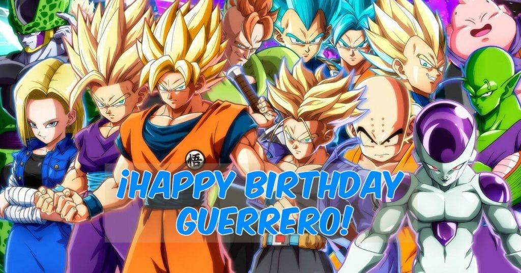 Feliz cumpleaños de Dragon Ball