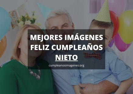 Felicitaciones de cumpleaños para nieto