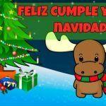 Feliz cumple de navidad