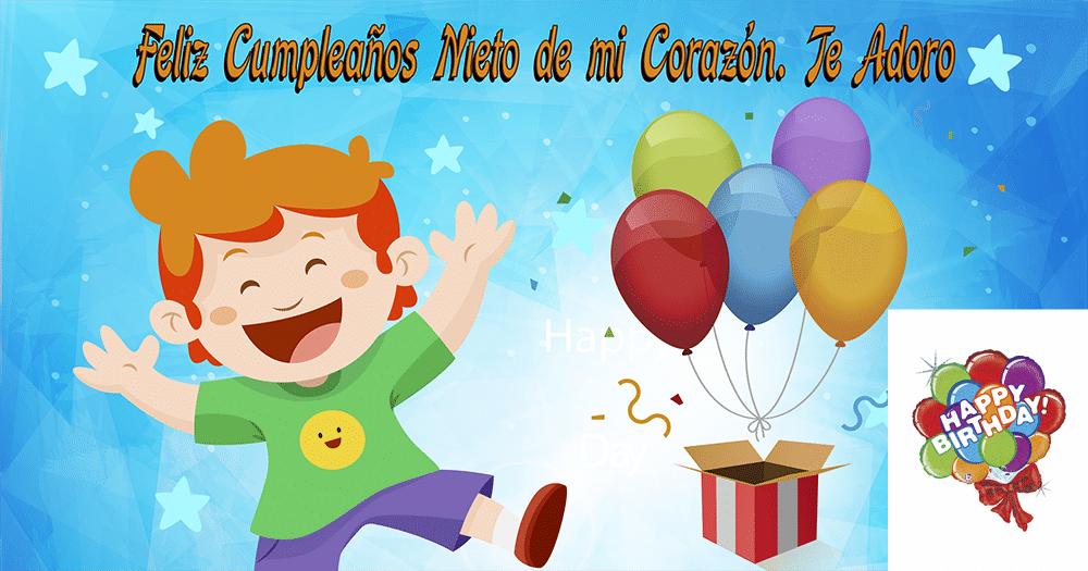 Feliz cumpleaños de nieto