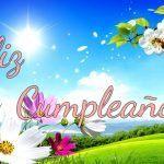 Feliz cumpleaños primaveral