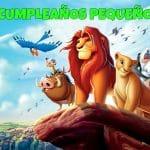 Feliz cumpleaños del Rey León
